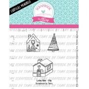LINHA MINI -  Vila  - Scrapbook by Tamy  (Coleção Natal 2020)