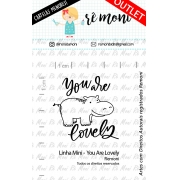 LINHA MINI - You Are Lovely (Remoni)