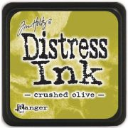 MINI DISTRESS INK - crushed olive