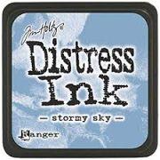 MINI DISTRESS INK - Stormy Sky