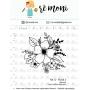 "Cartela de Carimbos G -  ""Floral 2"" - Remoni"