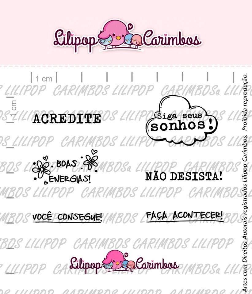 BOX DIÁRIO DA POSITIVIDADE - BLUEBERRY  - Lilipop carimbos