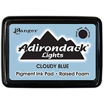 CARIMBEIRA ADIRONDACK - CLOUDY BLUE (PIGMENT INK PAD)