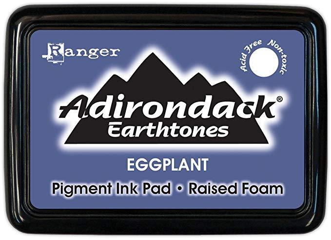 CARIMBEIRA ADIRONDACK - EGGPLANT (PIGMENT INK PAD)