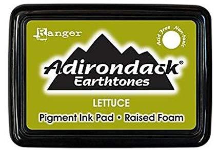 CARIMBEIRA ADIRONDACK - LETTUCE (PIGMENT INK PAD)