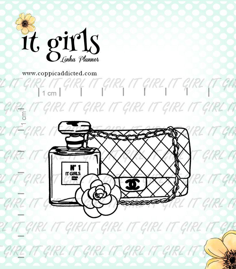 Carimbo It Girl Linha Planner - Acessório Chanel