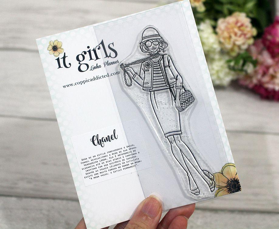 Carimbo It Girl Linha Planner - Chanel