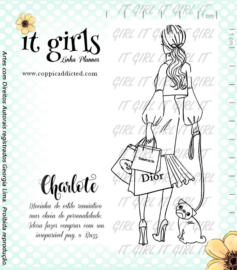 Carimbo It Girl Linha Planner - Charlote