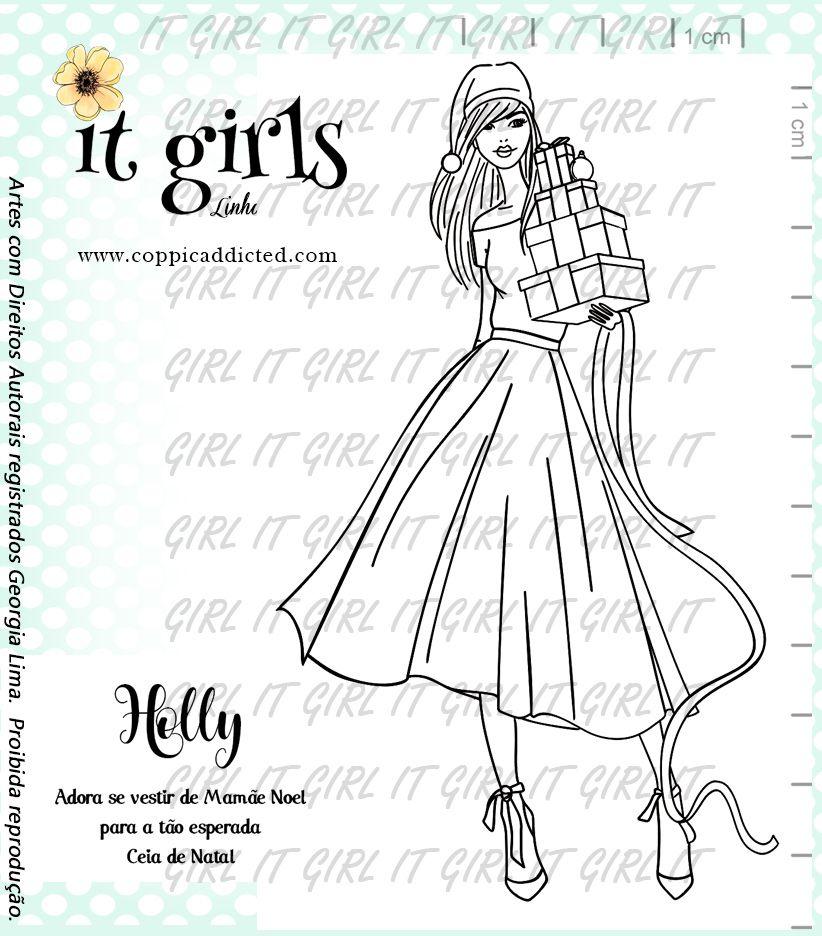 Carimbo It Girl Linha Planner - Holy