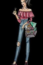 Carimbo It Girl Linha Planner - Nicole