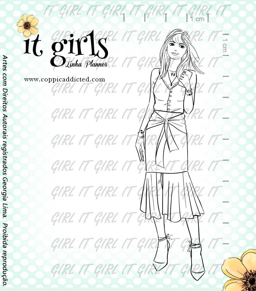 Carimbo It Girl Linha Planner - Beta