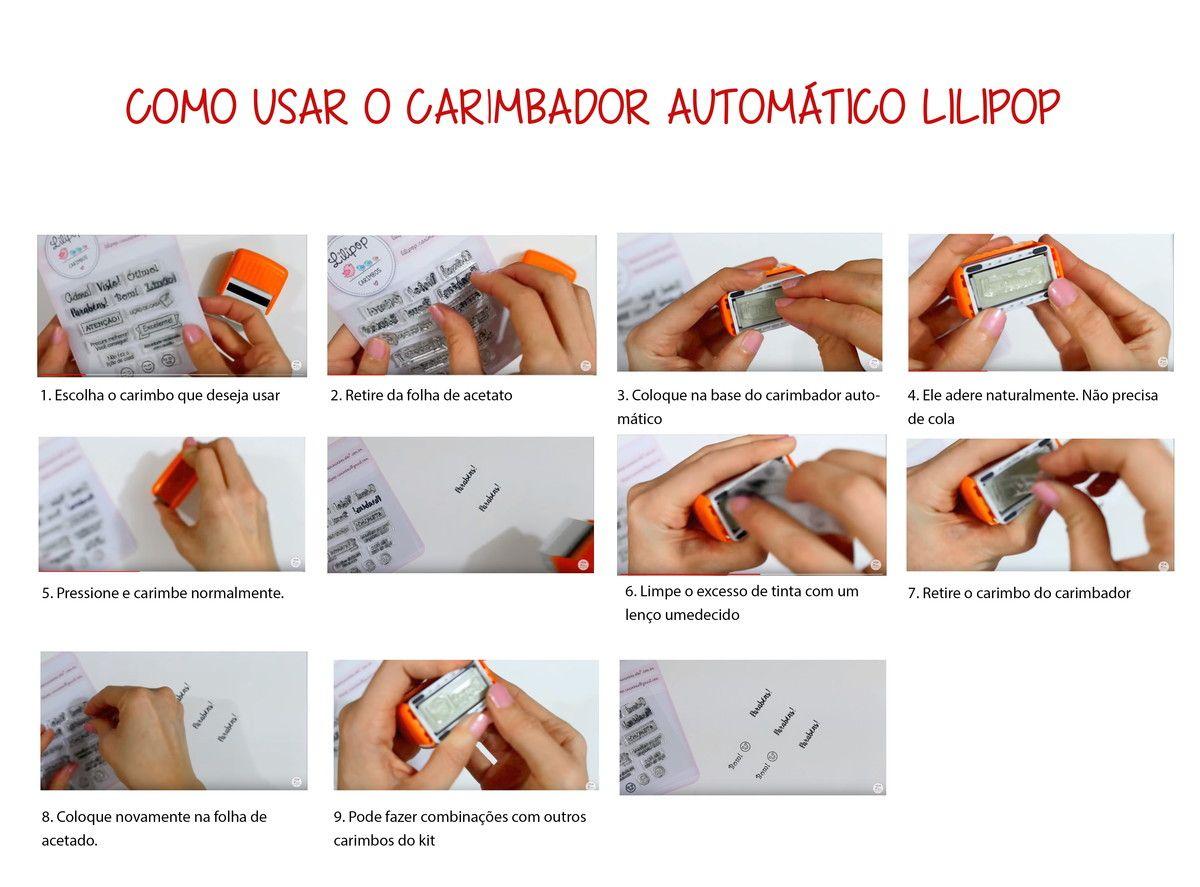 COMBO - Carimbos Professores  LILIPOP CARIMBOS