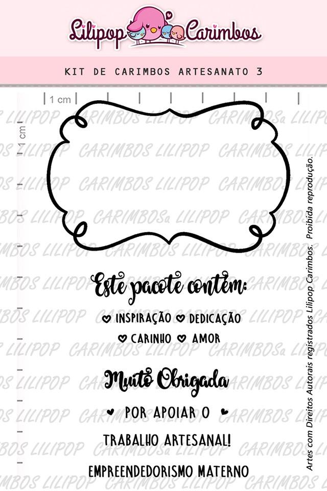 Kit de Carimbos - Artesanato 3