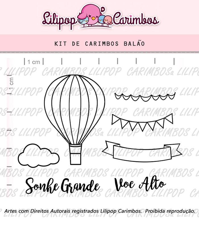 Kit de Carimbos - Balão