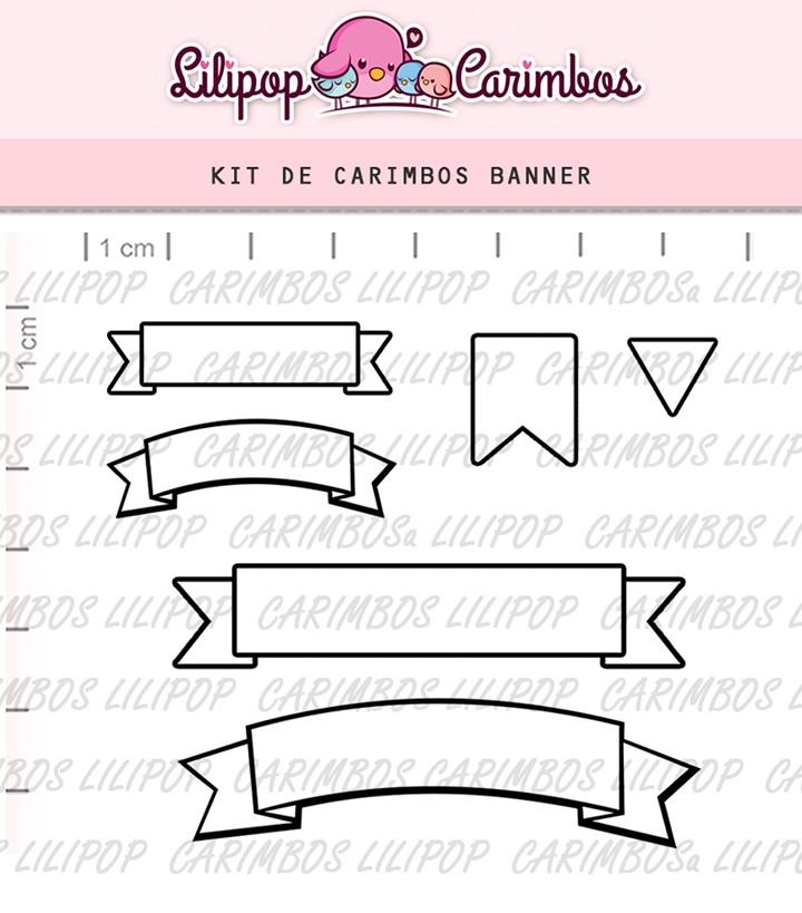 Kit de Carimbos - Banner