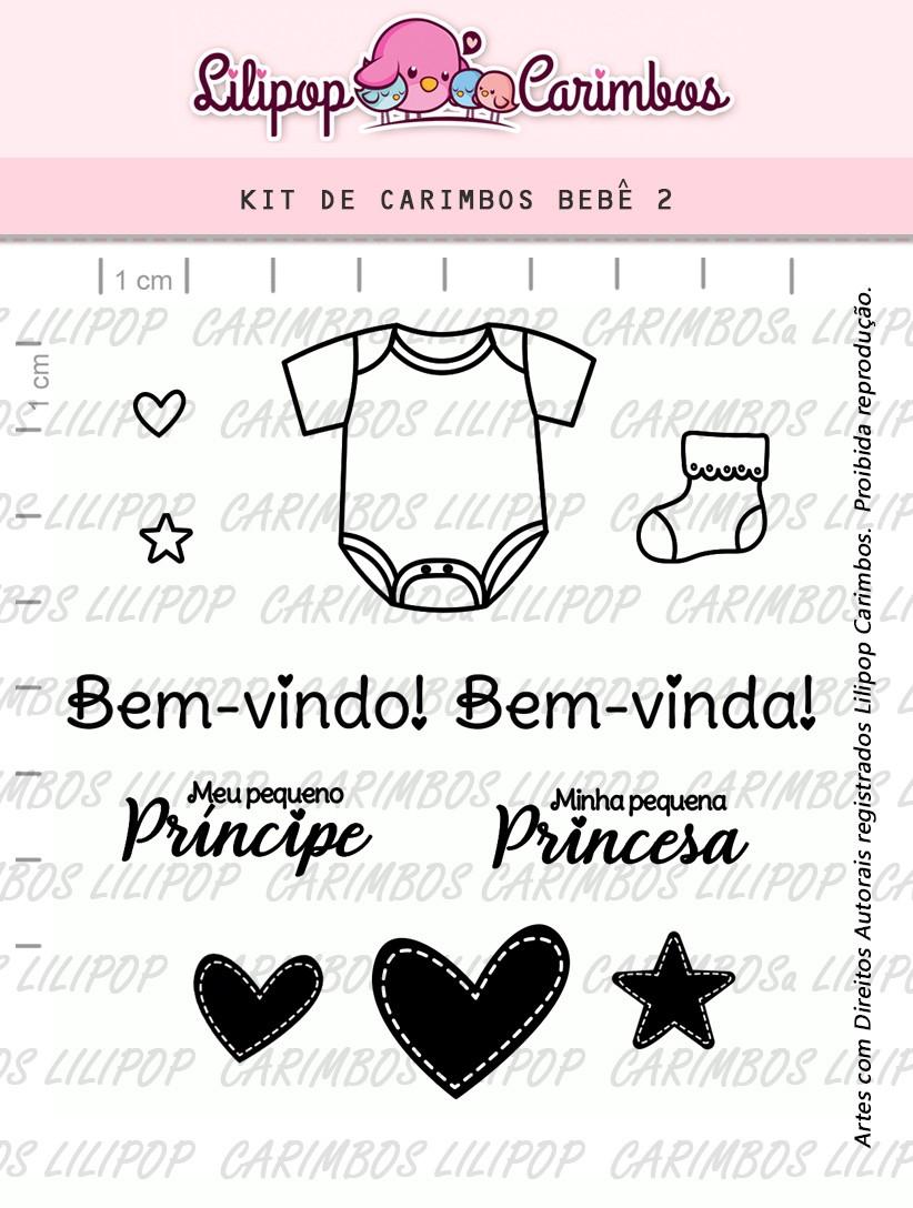 Kit de Carimbos - Bebê 2