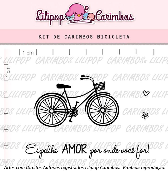Kit de Carimbos - Bicicleta