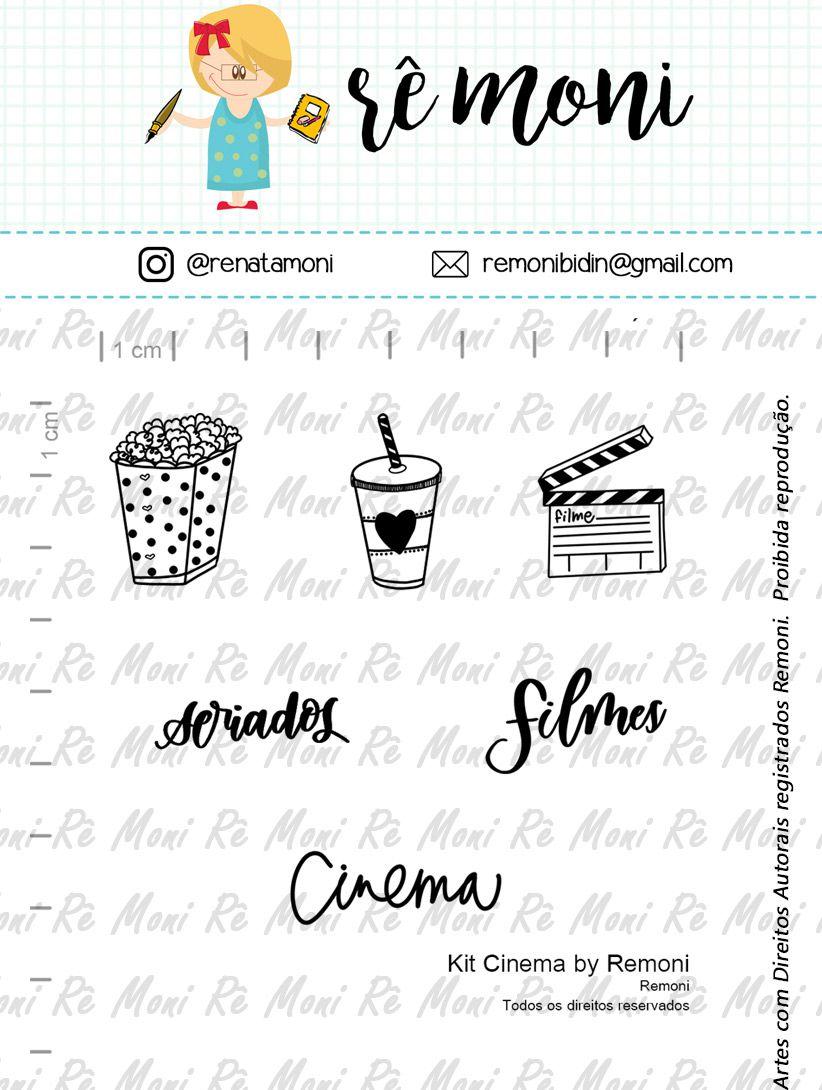 Kit de Carimbos - Cinema  by  Remoni