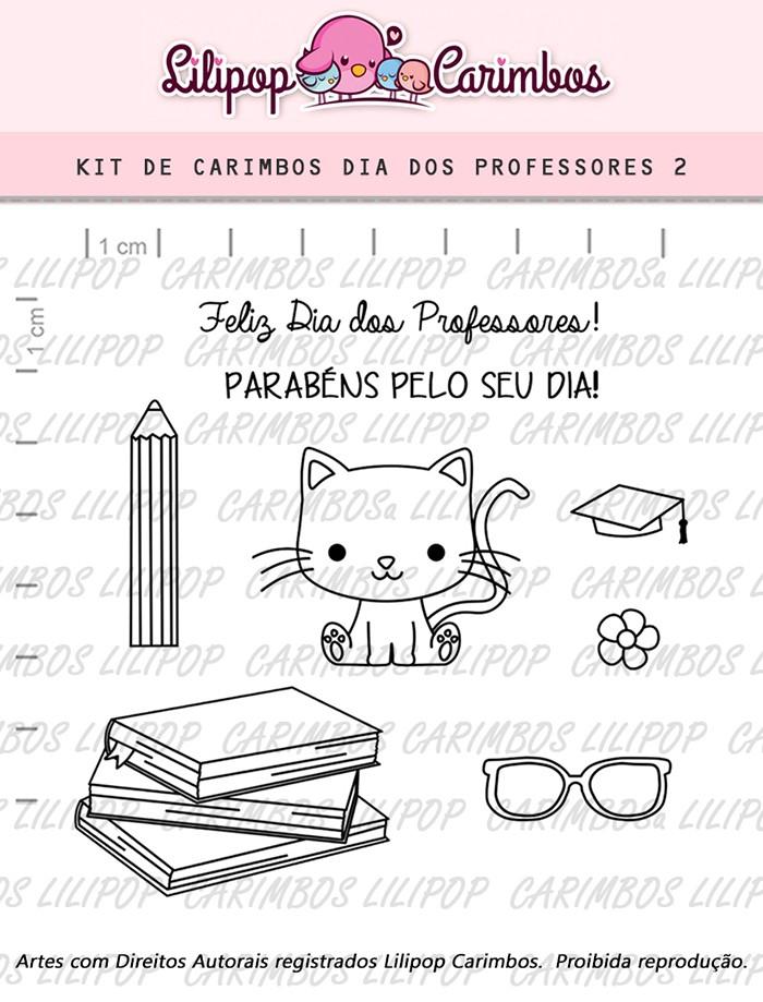 Kit de Carimbos - Dia dos Professores 2