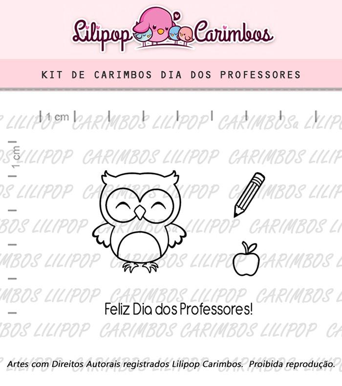 Kit de Carimbos - Dia dos Professores