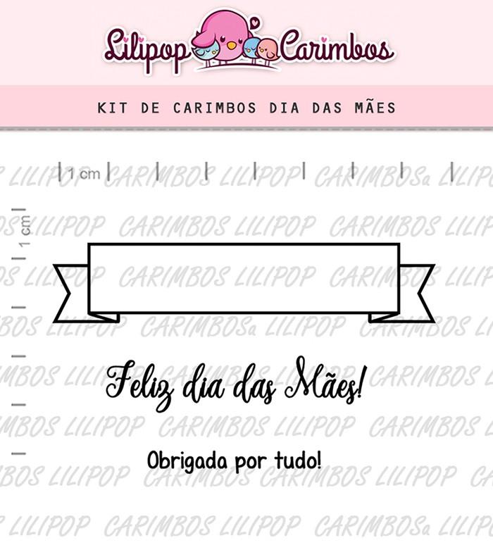 Kit de Carimbos - Dias das Mães