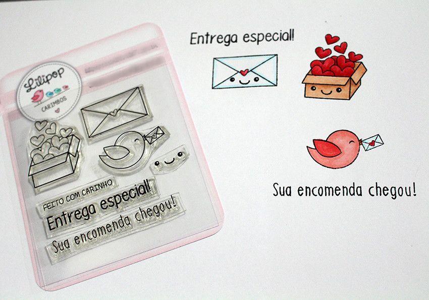 Kit de Carimbos - Encomenda Especial (LILIPOP CARIMBOS)
