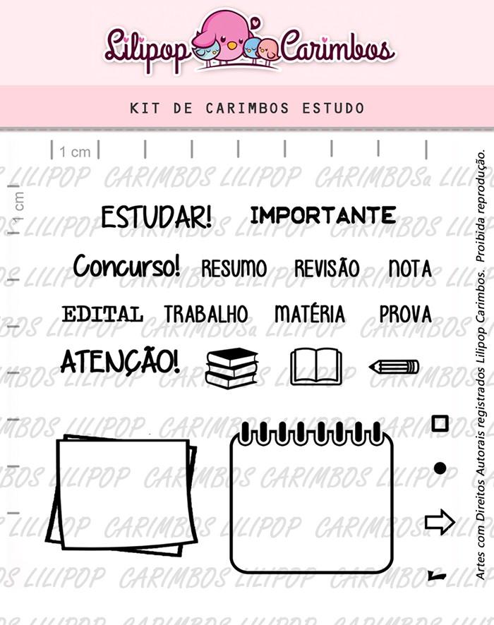 Kit de Carimbos - Estudo 2