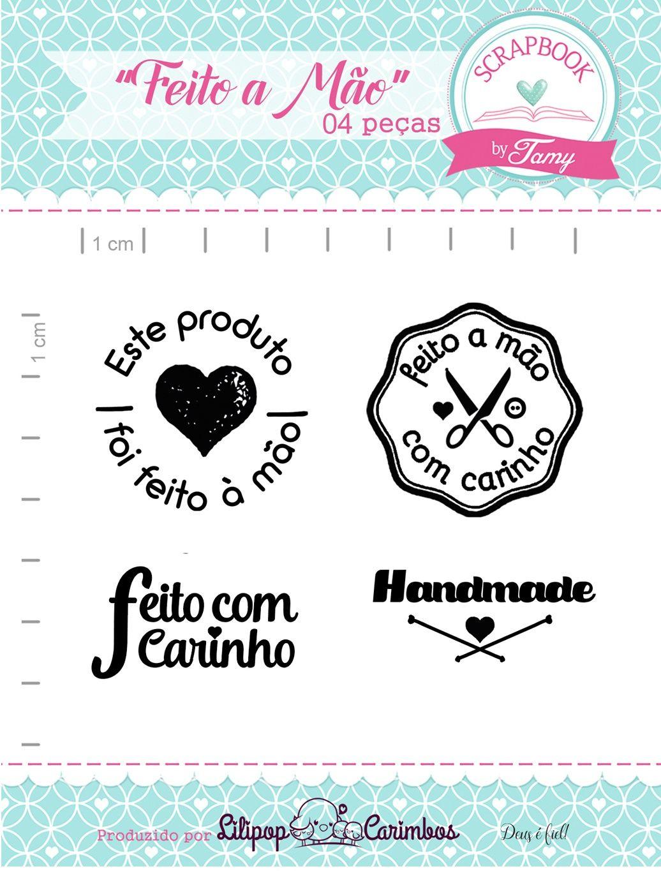 Kit de Carimbos - Feito a Mão