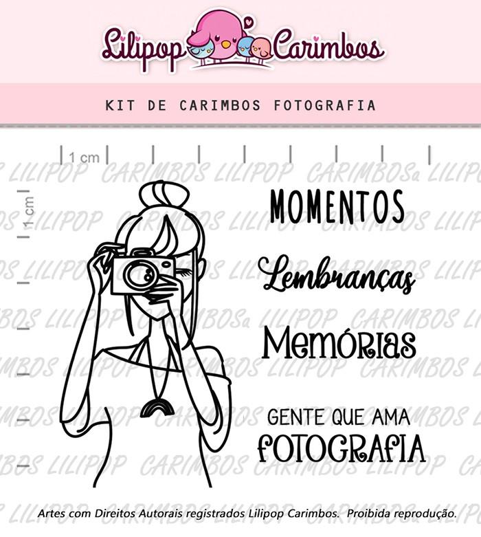 Kit de Carimbos - Fotografia (LILIPOP CARIMBOS)