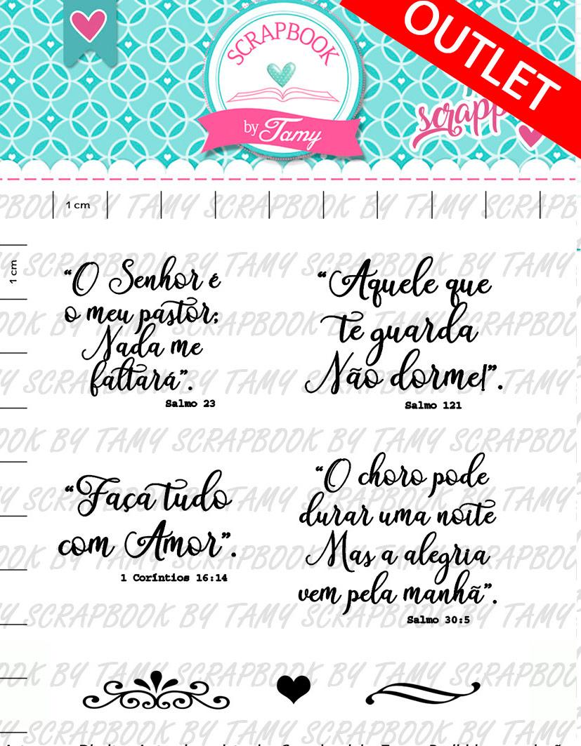 "Cartela de Carimbos - ""Gratidão 3"" - Scrapbook by Tamy  - Lilipop carimbos"