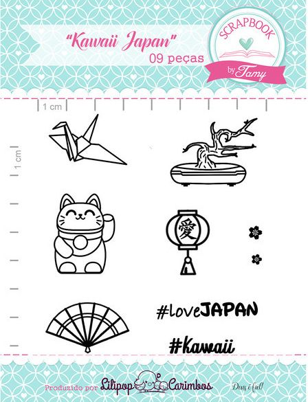 Kit de Carimbos - Kawaii Japan