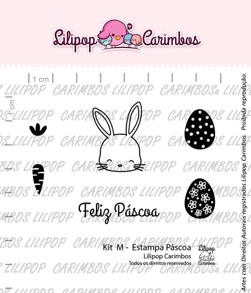 Kit de Carimbos M - Estampa de Páscoa (LILIPOP CARIMBOS)