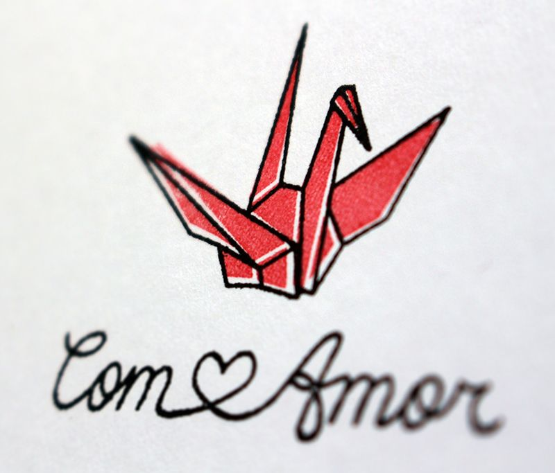 Kit de Carimbos - Origami