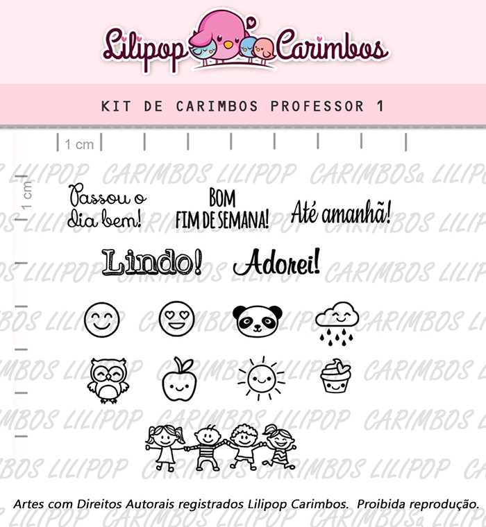 Kit de Carimbos - Professor 1