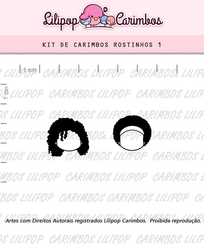 Kit de Carimbos - Rostinhos 1