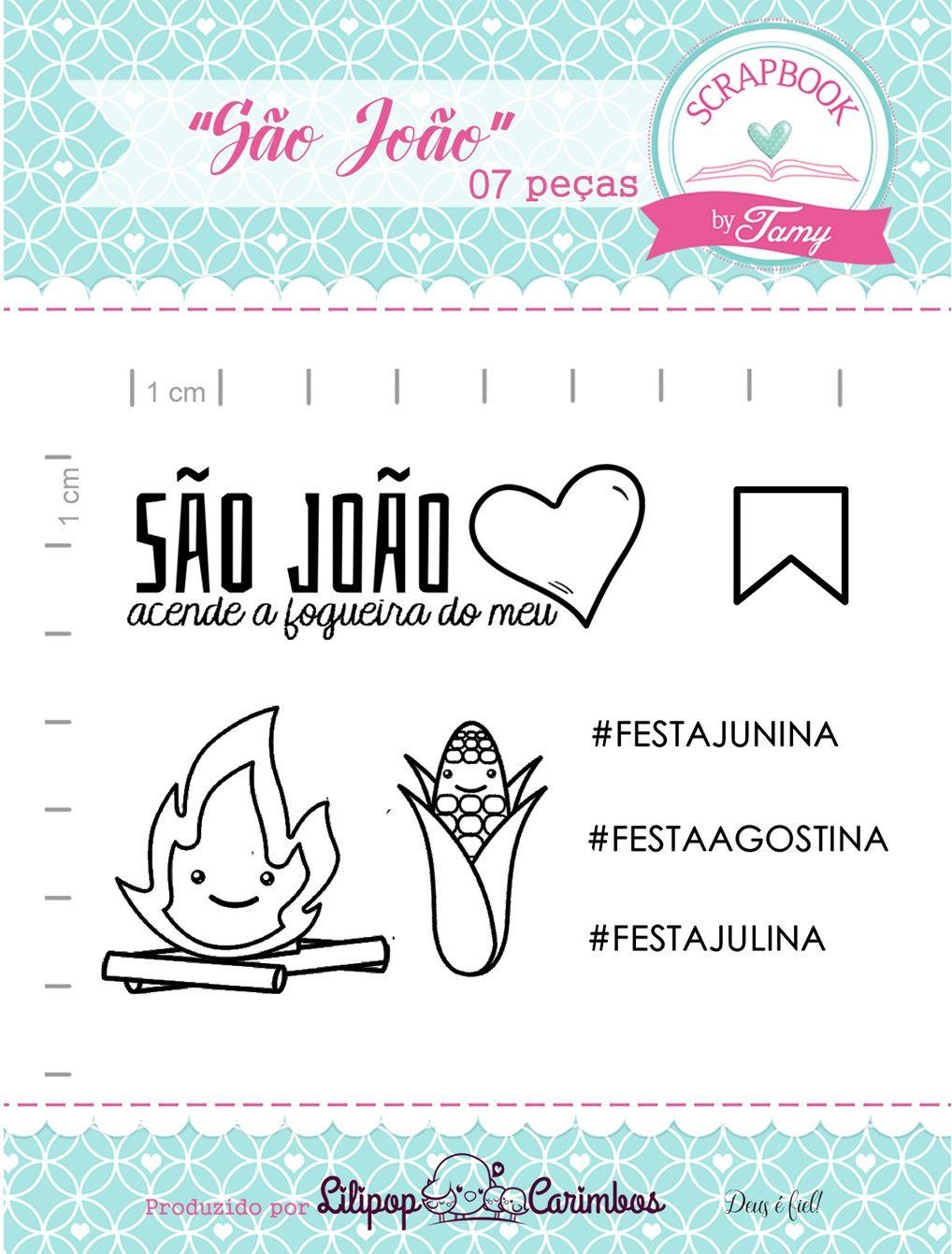 Kit de Carimbos - São João