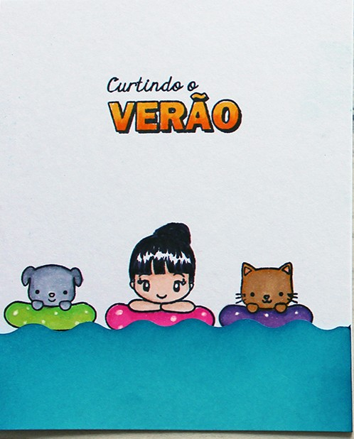 Kit de Carimbos - Verão