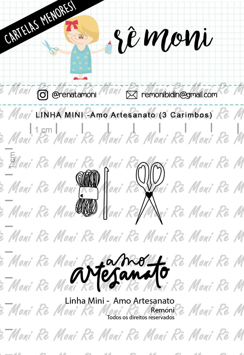 LINHA MINI - Amo Artesanato - Remoni