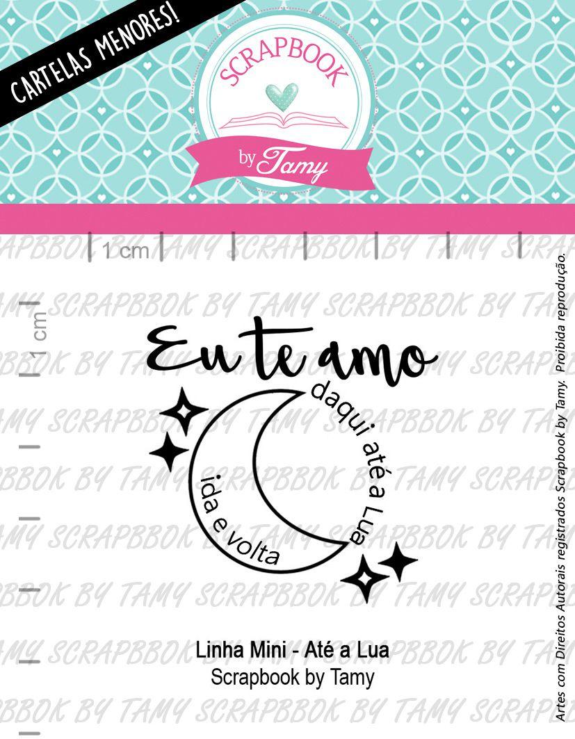 LINHA MINI -  Até a Lua - Scrapbook by Tamy