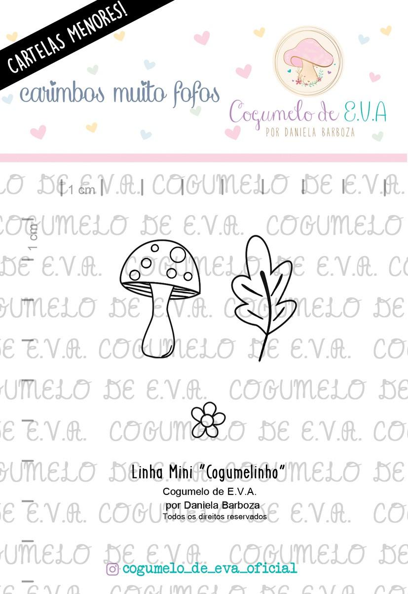 """LINHA MINI - """"Cogumelinho""""   Cogumelo de E.V.A."""