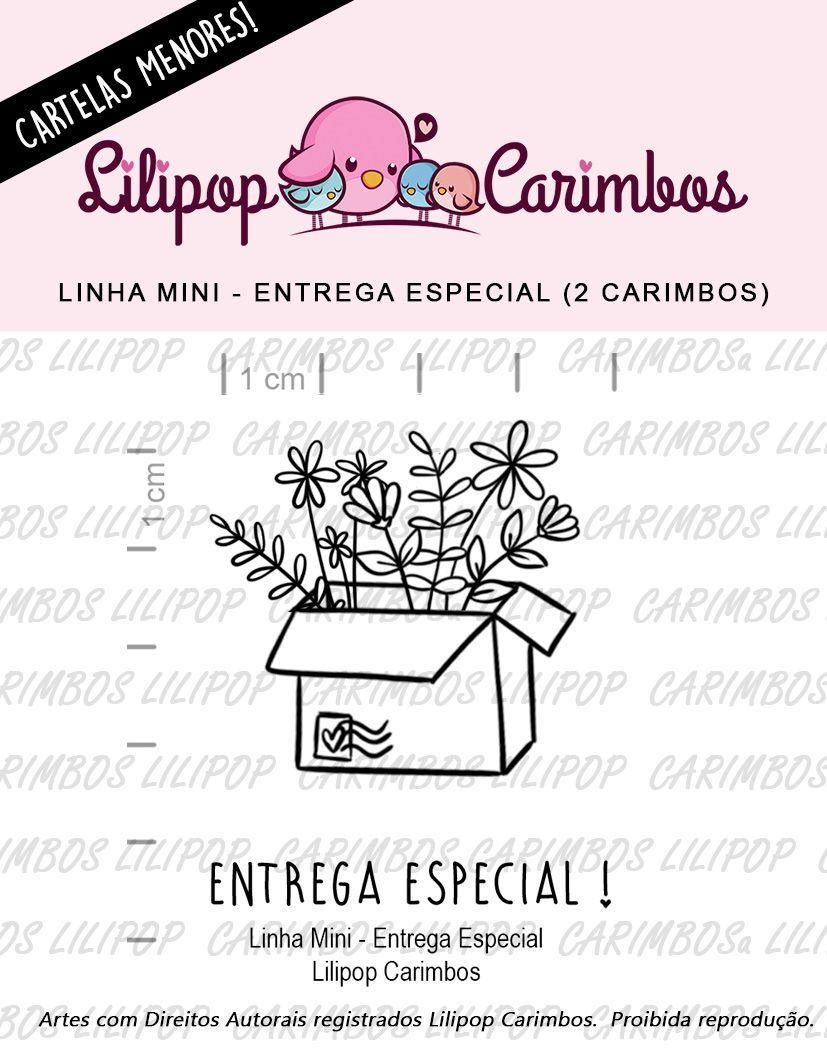 LINHA MINI - Entrega Especial (LILIPOP CARIMBOS)