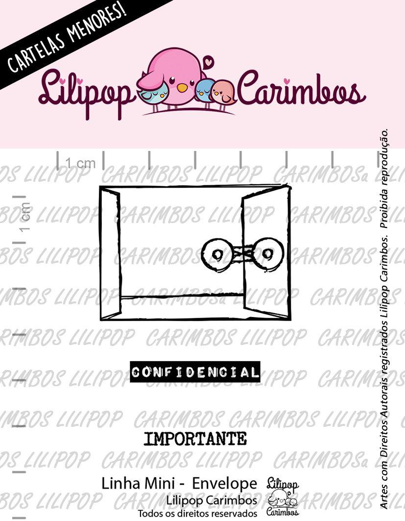 LINHA MINI - Envelope  - Lilipop Carimbos