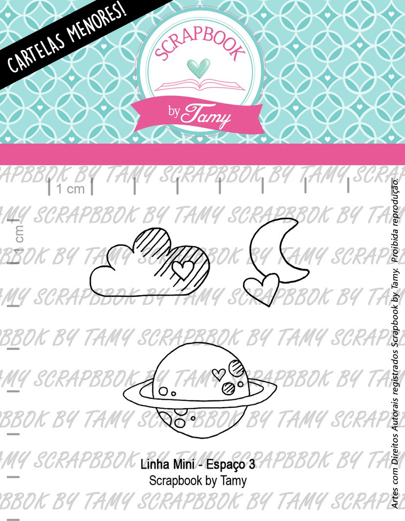 LINHA MINI -  Espaço 3  - Scrapbook by Tamy