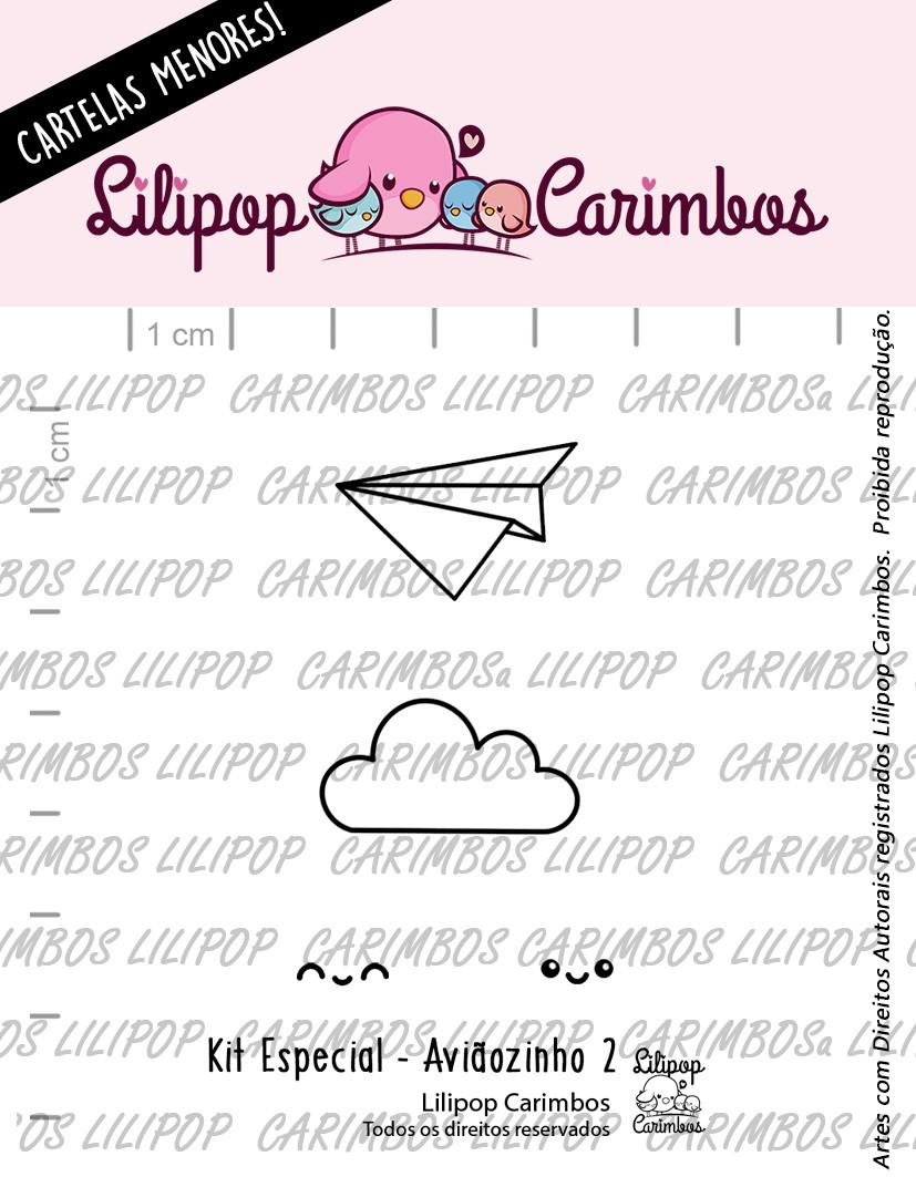 LINHA  MINI ESPECIAL (PINK FRIDAY) AVIÃOZINHO 2 - Lilipop Carimbos
