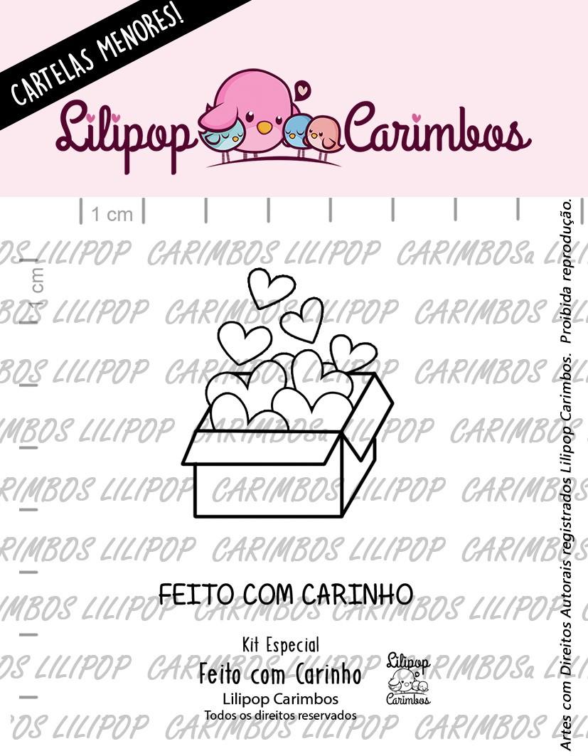 LINHA  MINI ESPECIAL (PINK FRIDAY) FEITO COM CARINHO- Lilipop Carimbos