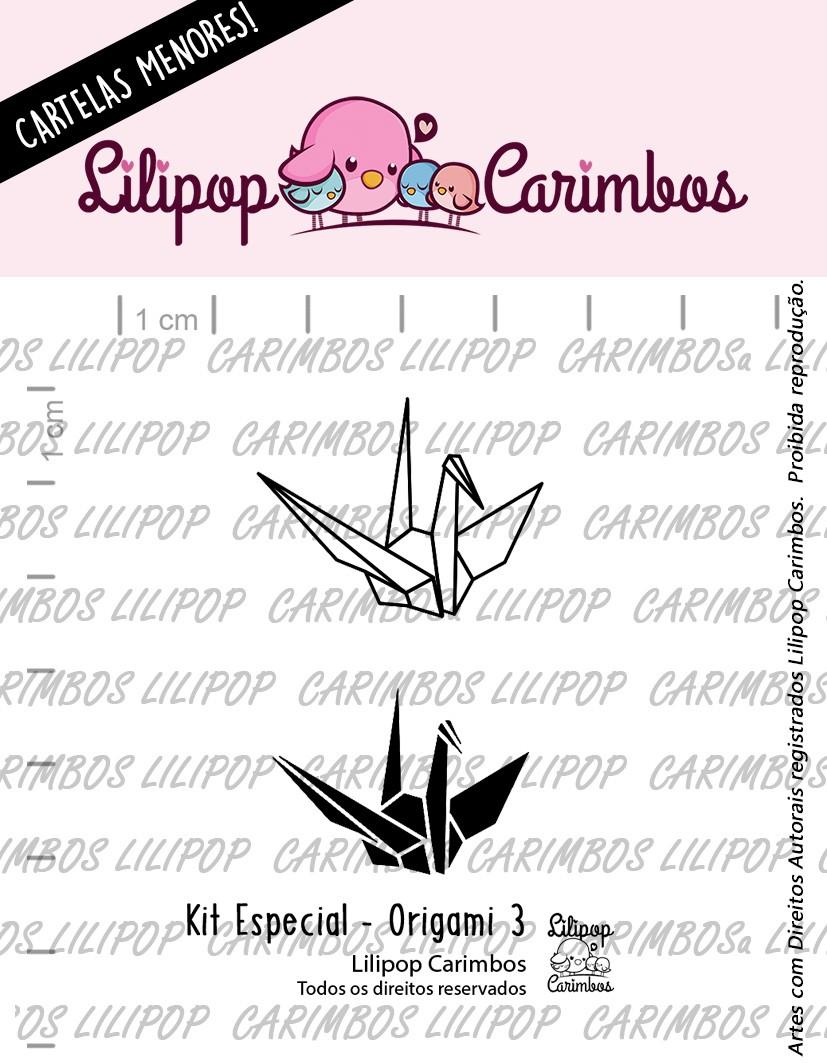 LINHA  MINI ESPECIAL (PINK FRIDAY) ORIGAMI 3 - Lilipop Carimbos