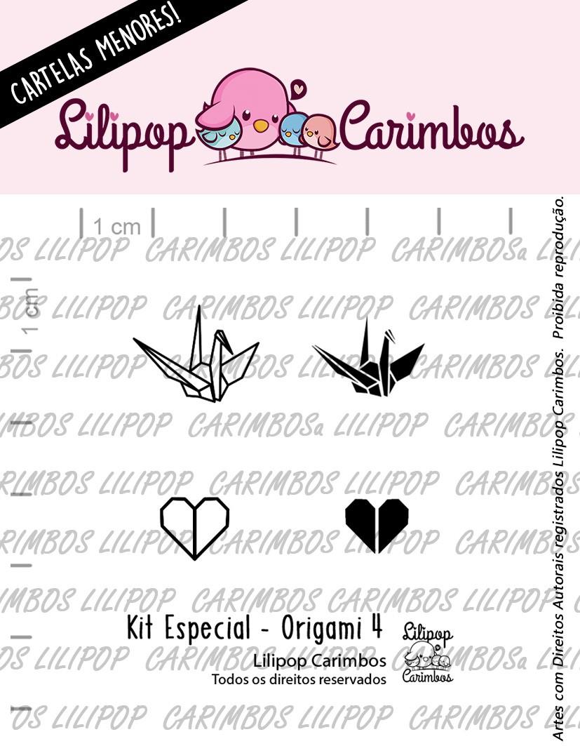 LINHA  MINI ESPECIAL (PINK FRIDAY) ORIGAMI 4 - Lilipop Carimbos