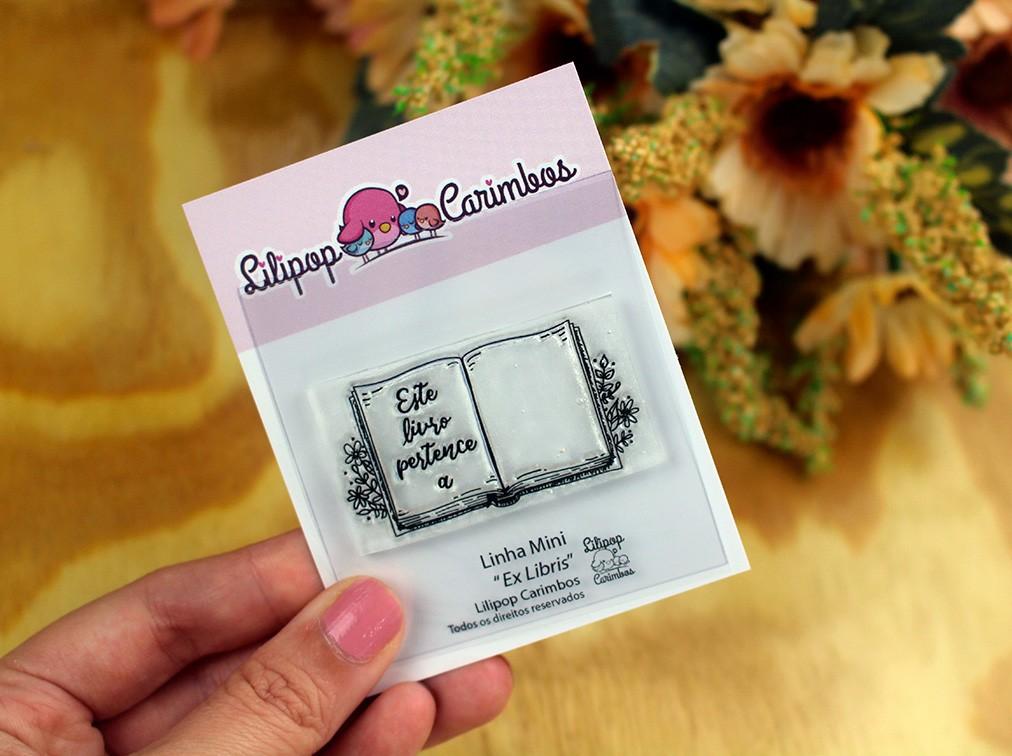 LINHA MINI - Ex libris - Lilipop Carimbos