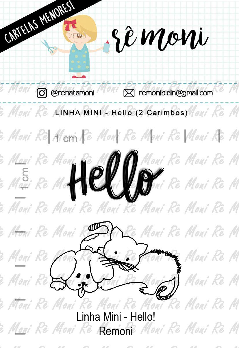 LINHA MINI - Hello (Remoni)