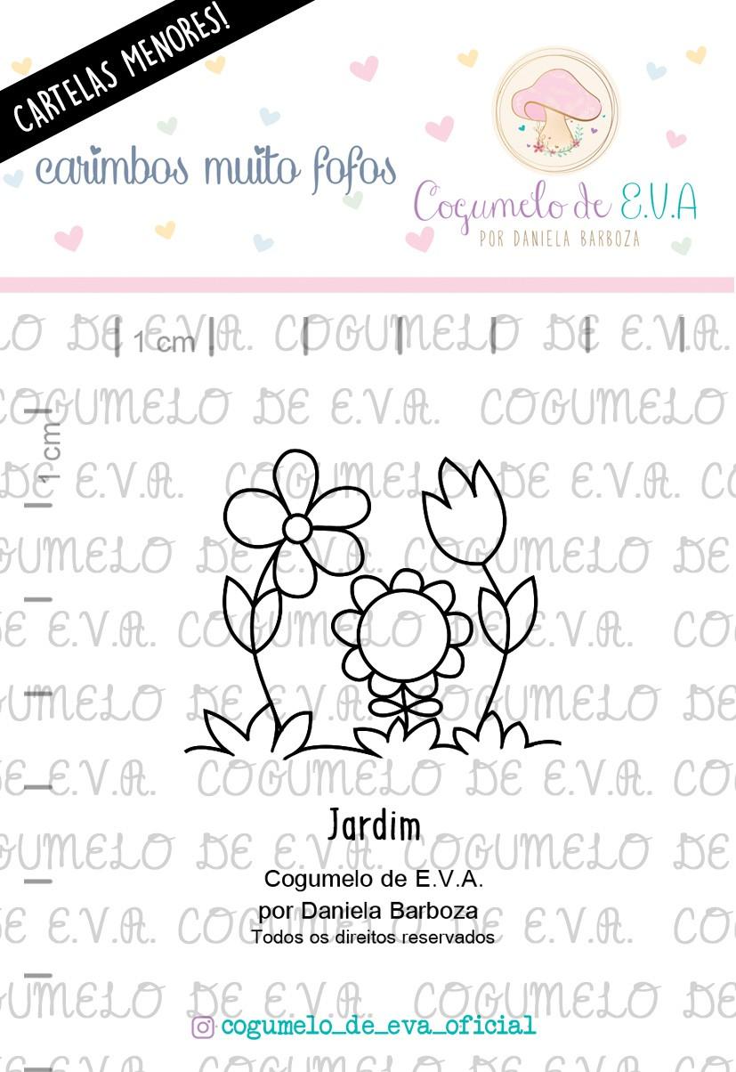 """LINHA MINI - """"Jardim""""   Cogumelo de E.V.A."""